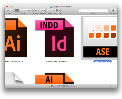 Finder Icons WITHOUT Art View
