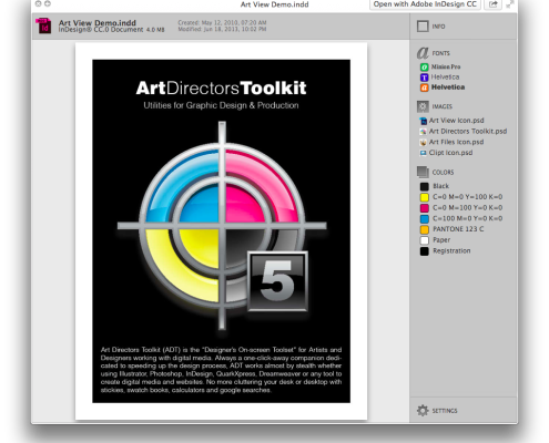 Preview Creative Cloud and Creative Suite Documents